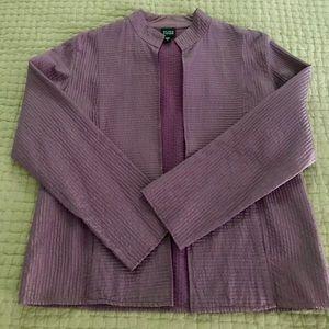 Eileen Fisher silk blazer